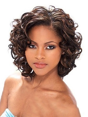 Cute Lace Front Synthetic Wavy Wig