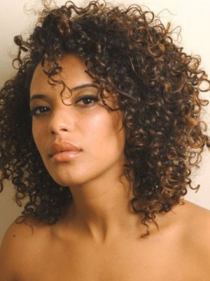 Prodigious Lace Front Remy Human Hair Curly Wig