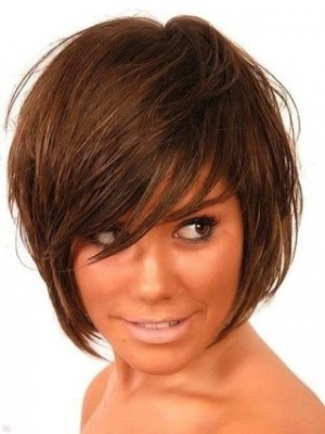 Bonny Capless Remy Human Hair Straight African American Wig