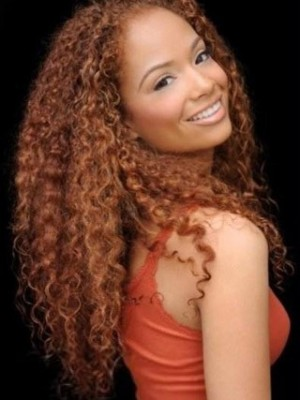 Pleasant Lace Front Remy Human Hair Curly African American Wig