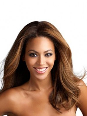Gorgeous Lace Front Remy Human Hair Wavy African American Wig