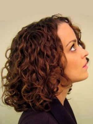 Fine Remy Human Hair Curly Lace Front African American Wig