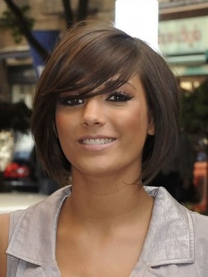 Popular Straight Remy Human Hair Capless African American Wig