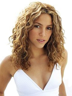Marvelous Synthetic Curly Lace Front African American Wig