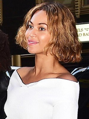 Stylish Wavy Synthetic African American Lace Front Wig