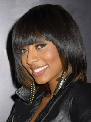 Classic Straight African American Wig