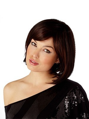 Bob Style Styleable heat-friendly synthetic hair Wig