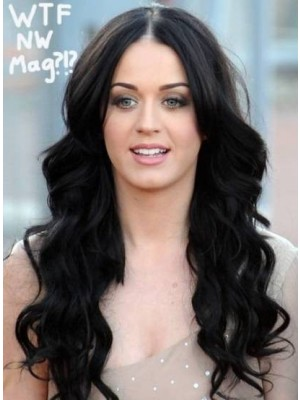 Lovely Katy Perry Long Full Lace Celebrity Wig