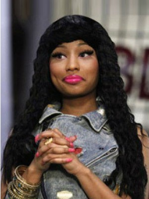 Nicki Minaj Fashion Wavy Lace Front Celebrity Wig