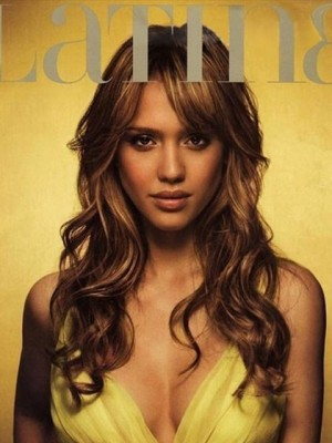 Jessica Alba New Hairstyle Lace Front Celebrity Wig