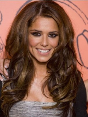 Sexy Cheryl Cole Long Wavy Synthetic Celebrity Wig