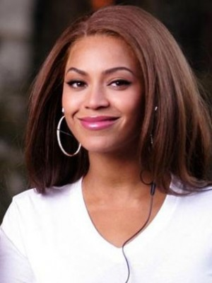 Amazing Sliky mid-length Beyonce Celebrity Wig