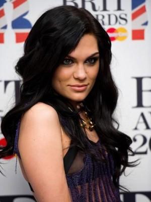 Jessie J Long Wavy Front Lace Celebrity Wig