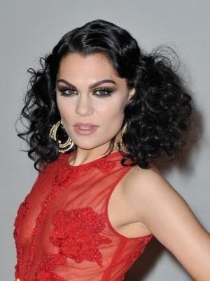 Jessie J Lace Front Long Wavy Celebrity Wig
