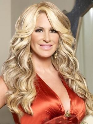 Luscious Curls Kim Zolciak Synthetic Celebrity Wig
