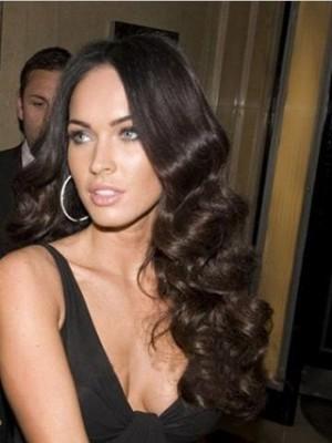 "Megan Fox 22"" Wavy Full Lace Celebrity Wig"