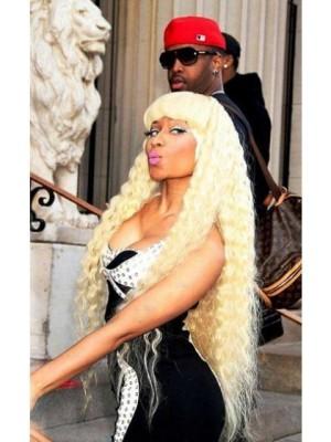 Nicki Minaj Long Swinging Wavy Celebrity Wig