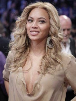 Stunning Beyonce Luscious Wavy Hair Celebrity Wig