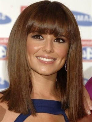 Cheryl Cole Stunning Straight Synthetic Celebrity Wig