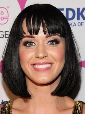 Sexy Katy Perry Synthetic Capless Celebrity Wig