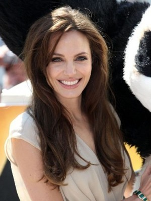 Angelina Long Straight Celebrity Wig