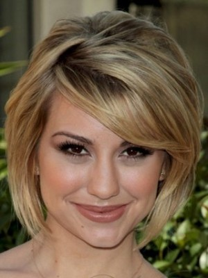 Chelsea Kane Concave Bob Hairstyle Celebrity Celebrity Wig