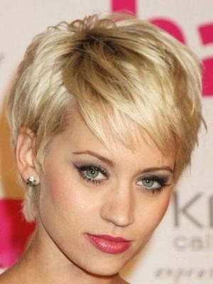 Celebrity Noble Short Straight Celebrity Wig