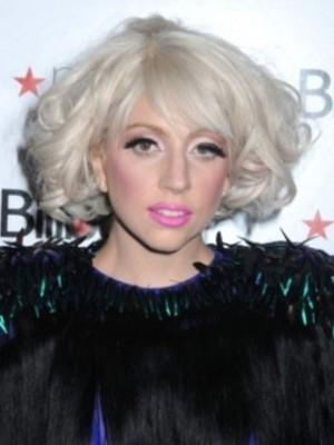 Lady Gaga Bob Style Wavy Celebrity Wig