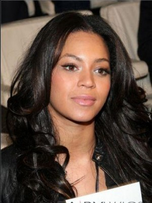 Beyonce Wavy Full Lace 100% Remy Human Hair Celebrity Wig
