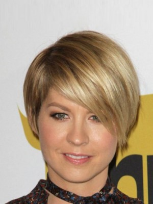 Jennifer Aniston Straight Full Lace Short Celebrity Wig