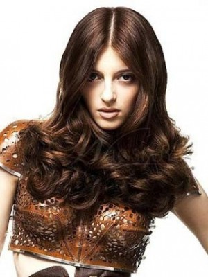 Chic Polished Hair Style Lace Celebrity Wig