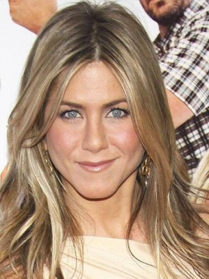 Jennifer Aniston Straight Full Lace Human Hair Celebrity Wig
