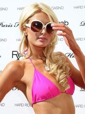 Paris Hilton Wavy Lace Front Long Celebrity Wig