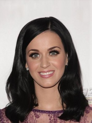 Gorgeous Katy Perry Straight Full Lace Human Hair Celebrity Wig