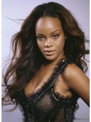 Rihanna Style Fabulous Wavy Lace Celebrity Wig