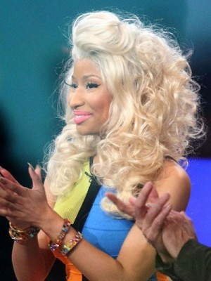 Nicki Minaj Hairstyle Wavy Celebrity Wig
