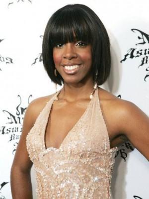 Kelly Rowland Glamorous Silky Bob Celebrity Wig