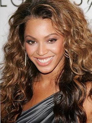 Beyonce Long Wavy Perfect Human Hair Full Lace Wig