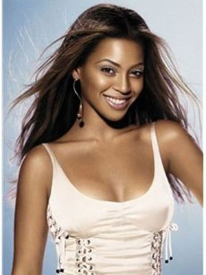 Beyonce Long Elegant Straight Remy Hair Lace Front Wig