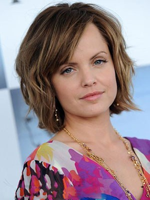 Mena Suvari Medium Perfect Remy Hair Lace Front Wig