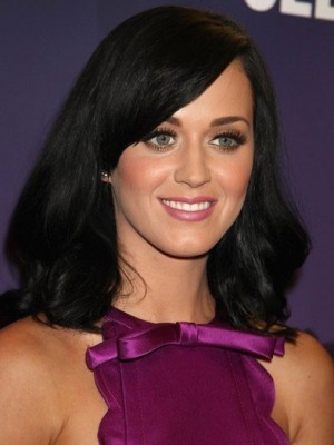 Katy Perry Long Bob Style Celebrity Wig
