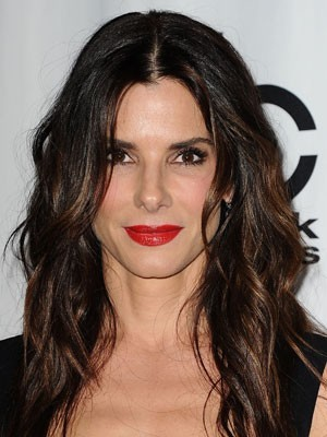 Sandra Bullock's Hairstyle Natural Human Hair Wig