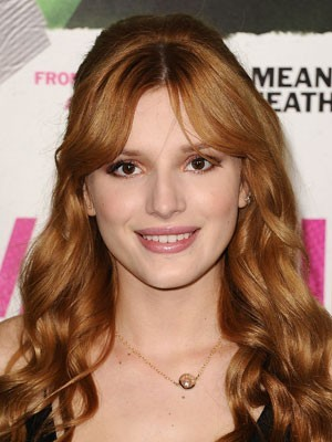Sweet Bella Thorne Hairstyle Wavy Lace Front Wig