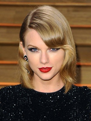 Taylor Swift's Wonderful Hairstyle Human Hair Wig