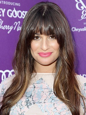 Stupendous Capless Lea Michele's Hairstyle Wig