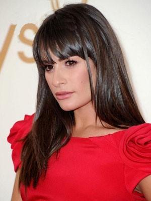Glamorous Lea Michele Hairstyle Capless Wig