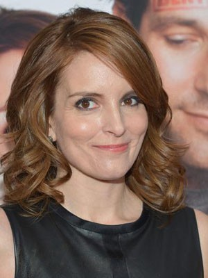 Flattering Tina Fey Hairstyle Lace Front Wig