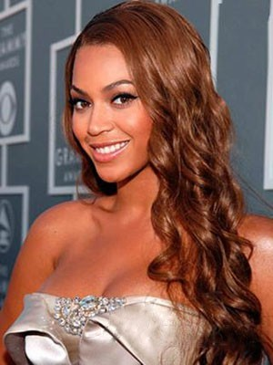 Beautiful Beyonce Hairstyle Synthetic Lace Front Wig