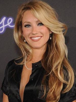 Whitney Duncan Lace Front Wavy Human Hair Wig