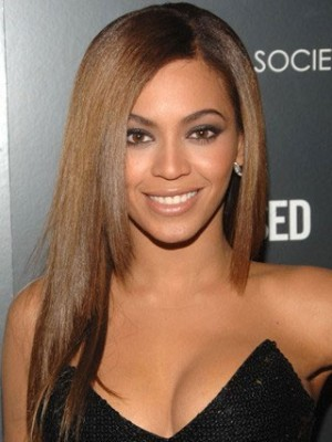 Beyonce Natural Straight Full Lace Celebrity Wig